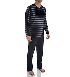 Schiesser Day and Night Jersey Pajama Pant Set 159622