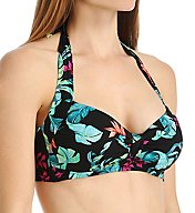 Seafolly Jungle Out There DD Cup Halter Swim Top 30036DD