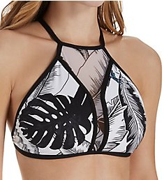 Seafolly Palm Beach High Neck Bikini Swim Top 30931PB