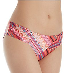 Seafolly Desert Tribe Ruched Side Retro Swim Bottom 40145DT