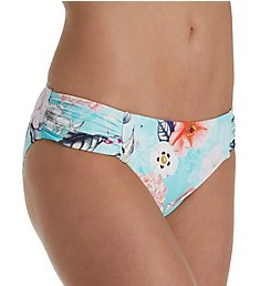 Seafolly Modern Love Ruched Side Retro Brief Swim Bottom 40145ML