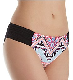 Seafolly Sahara Nights Ruched Side Retro Brief Swim Bottom 40145SN