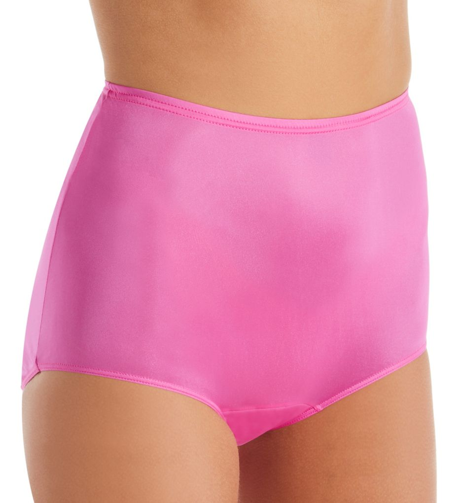 Shadowline Hidden Elastic Nylon Classic Brief Panty 17032