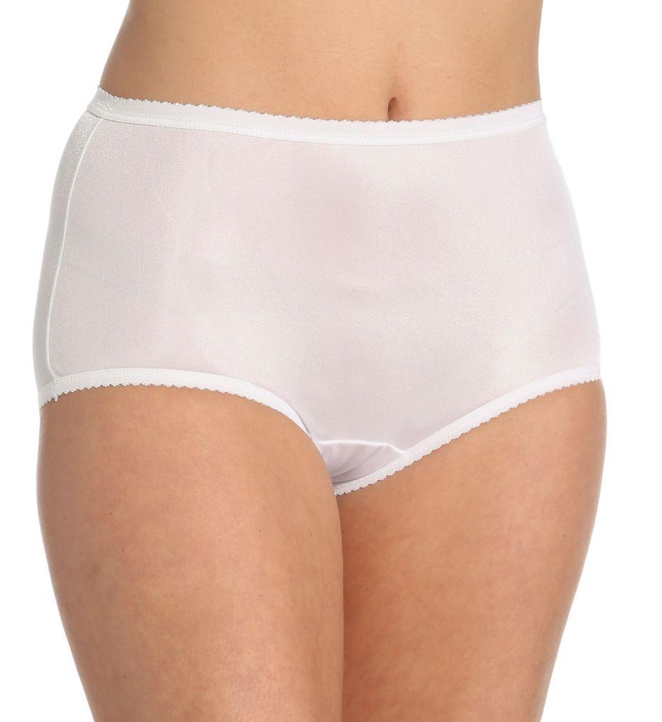 Shadowline Nylon Modern Brief Panty 17642