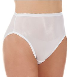 Shadowline Nylon Classics Hi-Leg Brief Panty 17842