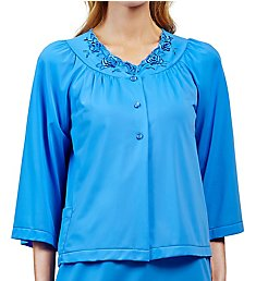 Shadowline Petals Nylon Tricot Bed Jacket 75280