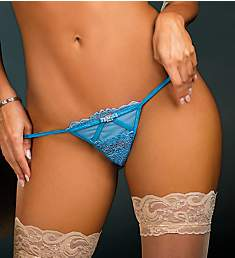 Shirley of Hollywood Stretch Lace and Mesh G-String 31209