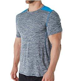 Skechers Space Dye Jersey Mesh Crew T-Shirt SKM-0259