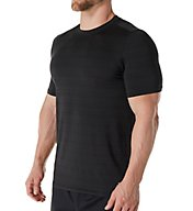 Skechers Barcode Striped Jersey Crew T-Shirt SKM-0274