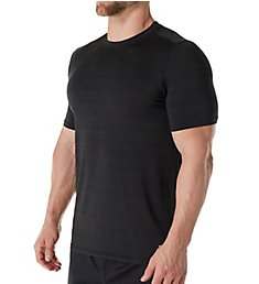 Skechers Barcode Striped Performance T-Shirt SKM-0274