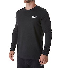 Skechers Cozy Long Sleeve Crew T-Shirt SMLT1209