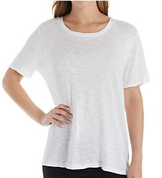 Splendid Cotton Modal Slub Zoe Short Sleeve Crew Neck Tee RF8K330