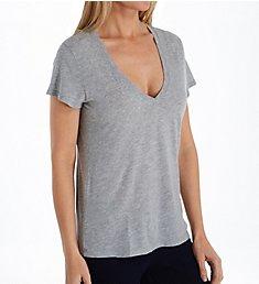 Splendid Kate Modal Jersey Short Sleeve V-Neck Tee RS9K480