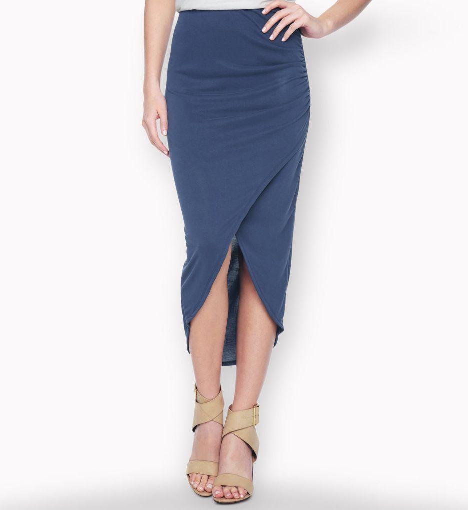 Splendid Sandwash Jersey Drapey Luxe Skirt SS10515