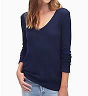 Splendid Thermal Long Sleeve V-Neck Tee ST10675