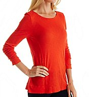 Splendid Slub Long Sleeve Boatneck Tee ST10739