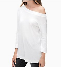 Splendid 1X1 One Shoulder Tunic Tee ST11716