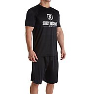Stacy Adams Men's Shorts Sleep Set SA6007