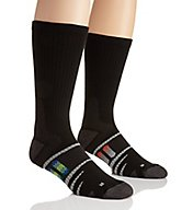 The Comfort Sock Anti-Fatigue Crew Socks - 2 Pack 18400202