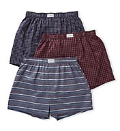 Tommy Hilfiger Cotton Classics Woven Boxer - 3 Pack 09TV059