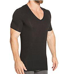 Tommy John Second Skin Stay-Tucked Deep V Undershirt 1001115