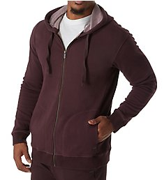 UGG Elliot Washed Double Knit Fleece Hoodie 1019594
