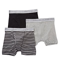Van Heusen Men's Cotton Boxer Briefs - 3 Pack 171PB02