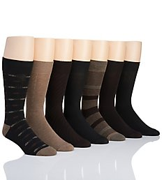 Van Heusen Fashion Dress Socks - 7 Pack 173DR25
