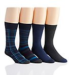 Van Heusen Flex Fashion Dress Socks - 4 Pack 173DR58