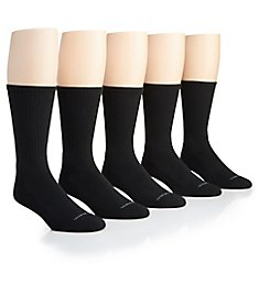 Van Heusen Core Athletic Crew Socks - 5 Pack 191CR01