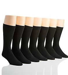 Van Heusen Flex Solid Dress Socks - 7 Pack 191DR67