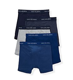 Van Heusen Cotton Boxer Briefs - 5 Pack 193PB16