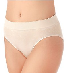 Vanity Fair No Pinch No Show Seamless Hi-Cut Brief Panty 13171