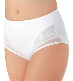 Vanity Fair Smoothing Comfort Lace Brief Panty 13267