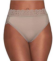 Vanity Fair Body Caress Ultimate Comfort Hi-Cut Brief Panty 13280