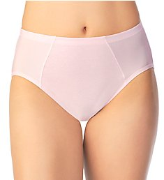 Vanity Fair Cooling Touch Cotton Stretch Hi-Cut Brief Panty 13321