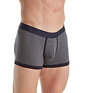 Zimmerli Linear Compositions Cotton Boxer Brief 1428280