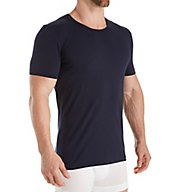 Zimmerli Pure Comfort Cotton Stretch Crew Neck T-Shirt 1721461