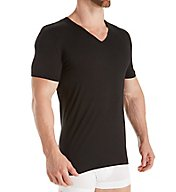 Zimmerli Pure Comfort Cotton Stretch V Neck T-Shirt 1721462