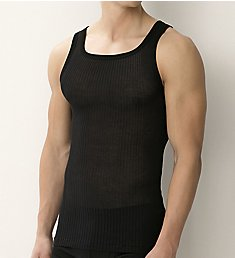 Zimmerli Richelieu Cotton Ribbed Tank Top 2071412