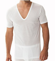 Zimmerli Royal Classic Deep V-Neck T-Shirt 2528124