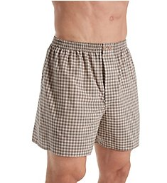 Zimmerli Linear Compositions Cotton Boxer Short 4686751