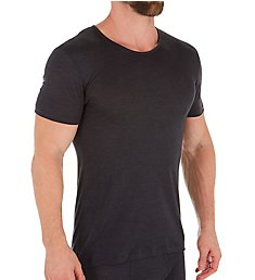 Zimmerli Wool & Silk Blend Crew Neck T-Shirt 7101450