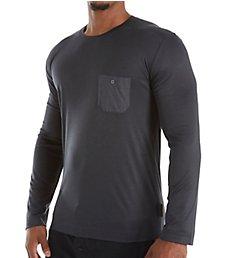 Zimmerli Jersey Loungewear Long Sleeve T-Shirt 8520-90