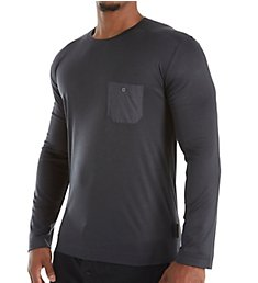 Zimmerli Jersey Loungewear Long Sleeve T-Shirt 8520-90