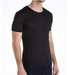 Zimmerli Raw Charmeuse Silk De Luxe Crew Neck T-Shirt 8521406